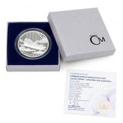 В Чехии выпущена монета из серии «Фантастический мир Жюля Верна»