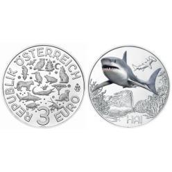 Монета с изображением акулы появится в Австрии