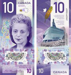 Объявлена дата выпуска новой канадской купюры