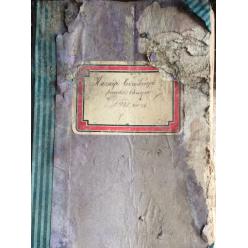 В Мукачево обнаружили замурованную книгу жалоб