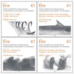 В Ирландии выпущены марки, которые рассказывают о научных открытиях ученых страны