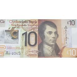 Шведский банк Clydesdale запустит новые 10 фунтов стерлингов