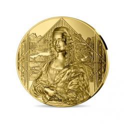 Во Франции выпустили золотую килограммовую монету в честь шедевра да Винчи «Мона Лиза»