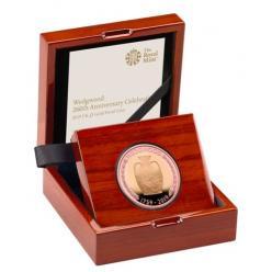 В Британии отчеканена монета в честь производителя фаянсовой посуды