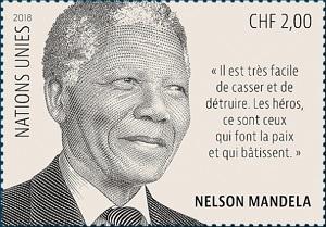 ООН выпустит марку в честь годовщины дня рождения Нельсона Манделы