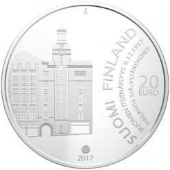 На памятной монете Финляндии отчеканены строки Декларации о Независимости
