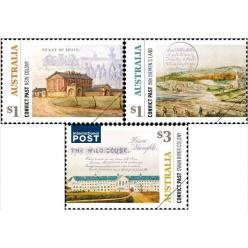 Австралия выпустила марки с пейзажами колоний для осужденных
