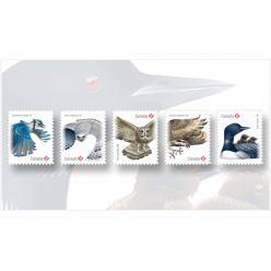 В Канаде выпустили птичью серию почтовых марок