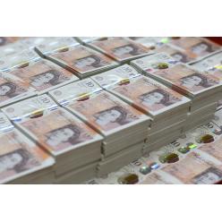 В Англії надрукували нову банкноту