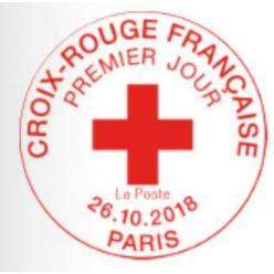 Выпуск нового почтового блока Франция посвятила Красному Кресту страны