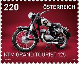 Австрия представила марку в честь легендарного мотоцикла