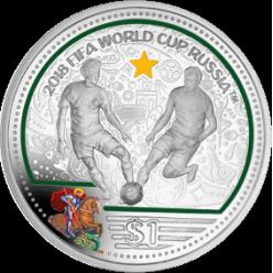 Монеты в честь Чемпионата мира по футболу отчеканены Pobjoy Mint
