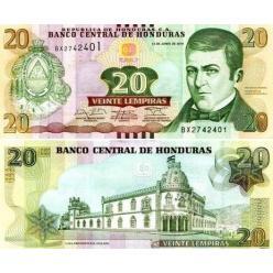 В Республике Гондурас в денежном обращении появилась обновленная банкнота