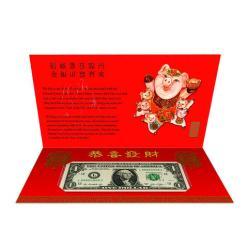 В США представили сувенирную банкноту, посвященную символу будущего года