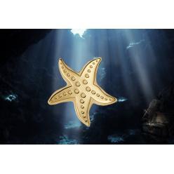 Для Палау отчеканена монета в форме морской звезды