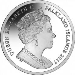 Фолклендские острова выпустили монеты в честь 35-летия освобождения от Аргентины