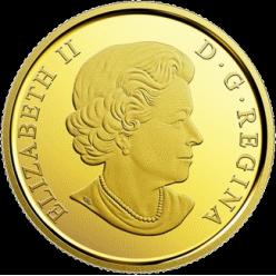 В Канаде отчеканена золотая монета «Символы Севера»