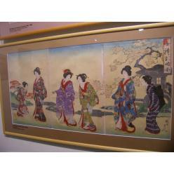 В Харьков привезли коллекцию японской гравюры