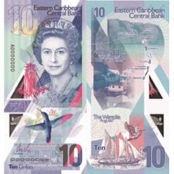 Полимерные купюры новой серии появятся в Восточных Карибах