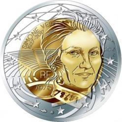 Во Франции анонсировали выпуск монеты «Симона Вейль»