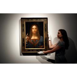 Пропала картина Леонардо Да Винчи, купленная на аукционе за $450,3 млн