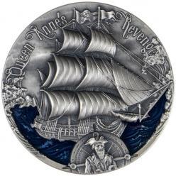 В Польше отчеканена монета с изображением пиратского корабля Черной Бороды