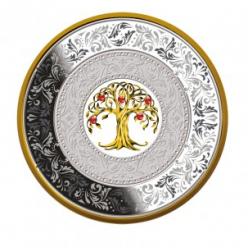 В Польше представлена монета, на которой изображено денежное дерево