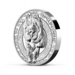 У Франції випущені монети «Рік собаки»