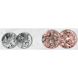 Во Франции представлена монета и медаль в честь окончания войны