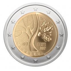 В Эстонии выпустили памятную монету в честь 100-летия независимости