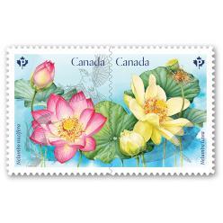 Марка с изображением священного цветка появится в Канаде