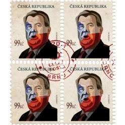 В Чешской Республике выпустят марку с изображением президента страны