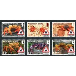 Крабы с острова Вознесения появились на марках