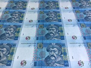 Нацбанк Украины сообщил о результатах электронного аукциона по продаже неразрезанных листов банкнот гривны