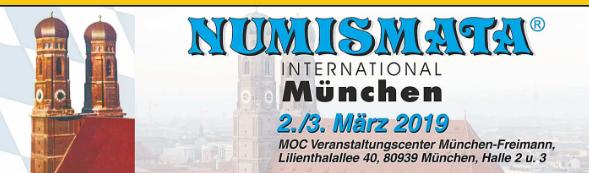 Сегодня в Мюнхене открылась 52-я Международная выставка-ярмарка NUMISMATA