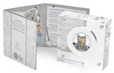На Британской монете изображен котенок