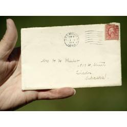 В США письмо век спустя дошло по адресу