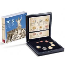 В Австрии к юбилею создания Республики выпущен набор монет