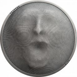 Компания Coin Invest Trust на новой монете изобразила человека, оказавшегося в ловушке