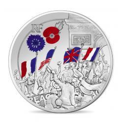 Во Франции представлена последняя монета серии, посвященной Первой мировой войне
