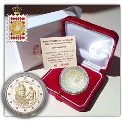 В Монако выпущена монета в честь 250-летия со дня рождения Франсуа Жозеф Бозио