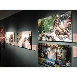 Выставка «Украина на передовой» стартовала в Нью-Йорке