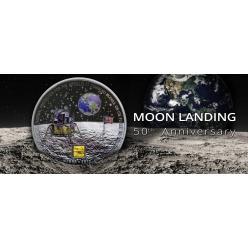 Компания Powercoin анонсировала выпуск монеты, посвященной 50-летию посадки космического корабля на поверхность Луны