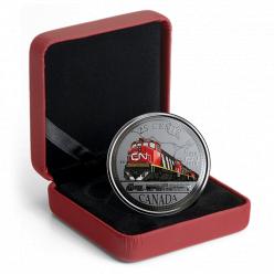 В Канаде отчеканена монета в честь 100-летия железной дороги страны