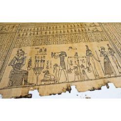 На аукционе в Монако за 1,35 млн евро ушел с молотка 17 - метровый папирус