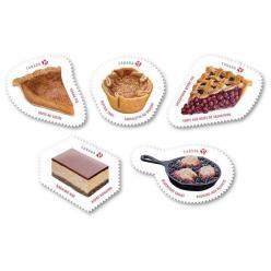   В Канаде появятся почтовые марки с изображением сладостей