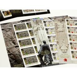 Марки в честь 100-летия окончания Первой мировой войны выпущены на острове Мэн