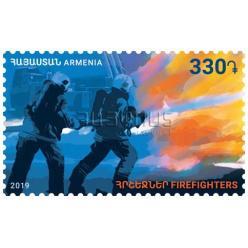 В Армении выпущена почтовая марка «Пожарники»