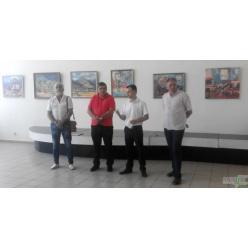 В Ужгороде открылась экспозиция художника Николая Качуры