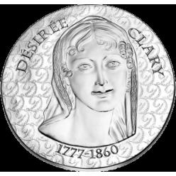 Нацбанк Франции выпустил памятные монеты в честь Дезире Клари